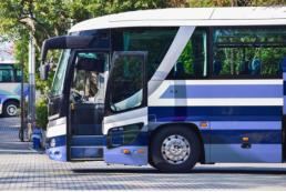 名古屋市内を貸切バスで団体旅行