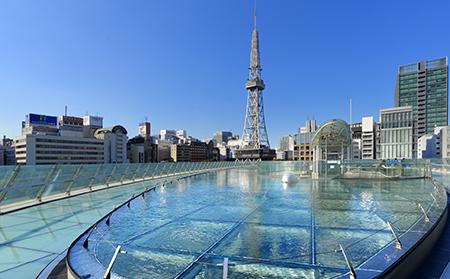 名古屋市内のルート観光も楽楽バスにおまかせください。